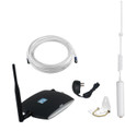 zBoost Trio Soho Verizon Cell Phone Signal Booster | ZB575-V Complete Kit