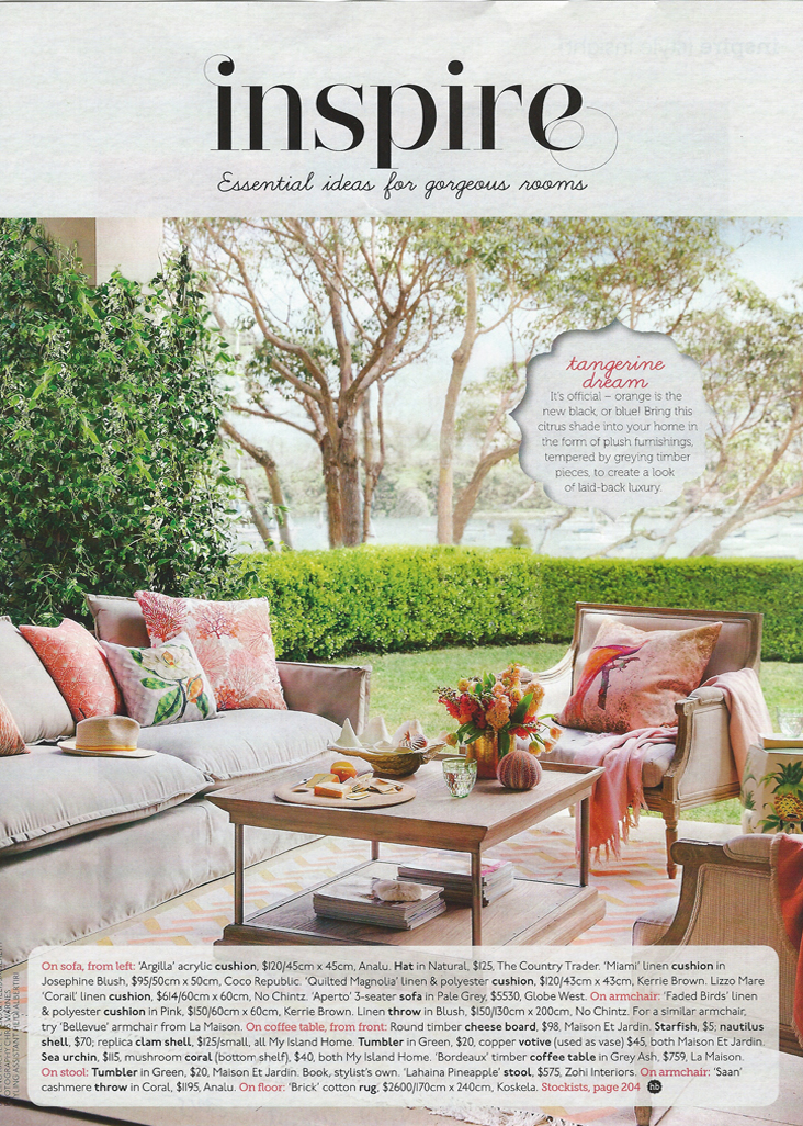 2015 March Issue Of Home Beautiful