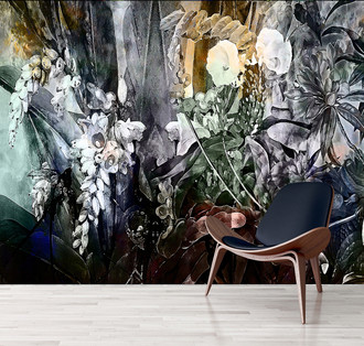 Wallpaper -Flower Power - Incandescent