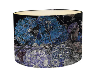 Lampshade - Still Life - Dark Blue