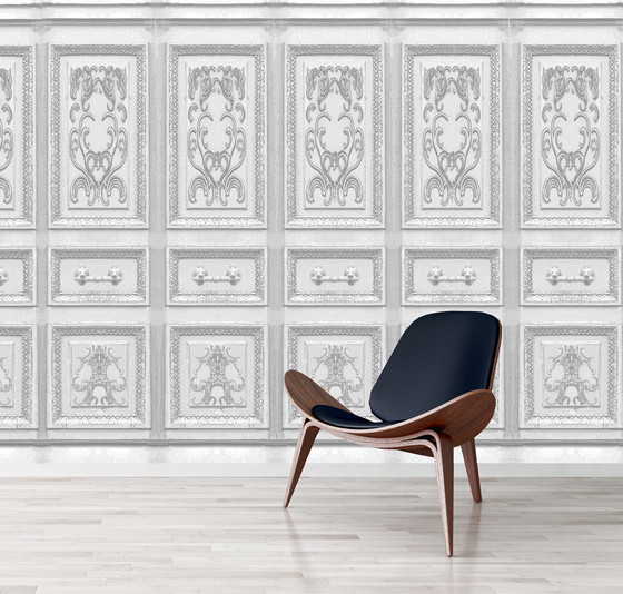 Wallpaper French Panels Kerrie Brown