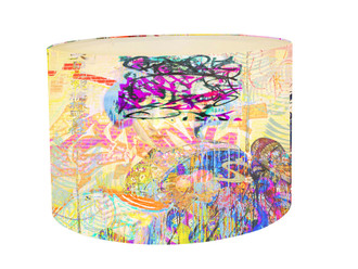 Lampshade - Graffiti _ Yum Yum