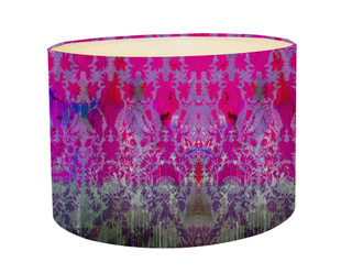 Lampshade - Colour Crash - Magenta