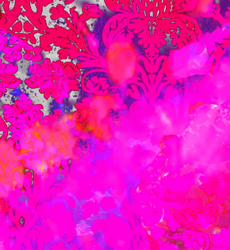Fabric - Colour Crash Fuchsia Splash