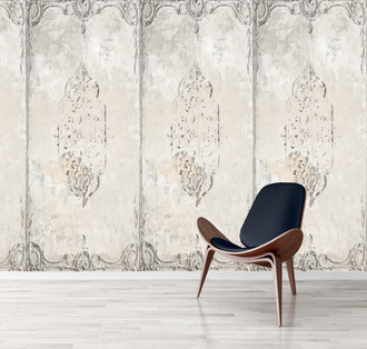 Wallpaper - Crumbling Plaster Wall Panel