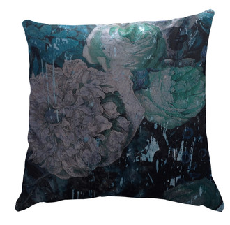 Velvet Cushion Covers - Still Life with Flowers