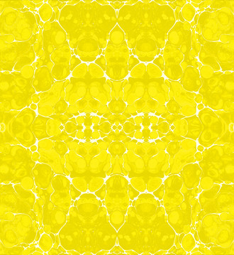 Fabric- Marble - Yellow and White
