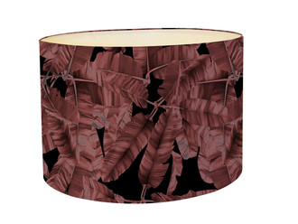 Lampshade - Jungle Noir - Pink