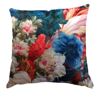 Velvet Cushion cover - Down The Garden Path