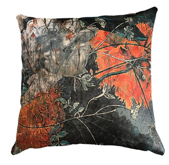 Velvet Cushion Cover  - Orange is the New Black