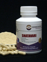 Shatavari Loose Powder or Capsules @ Herbosophy