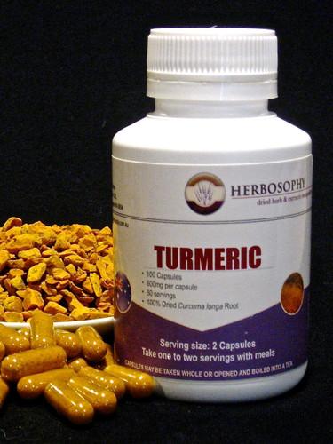 Turmeric Capsules and Powder @ Herbosophy