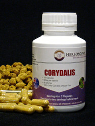 Corydalis Loose Cut, Powder or Capsules @ Herbosophy