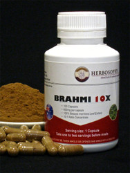 Brahmi 10X Extract Capsules & Loose Powder @ Herbosophy