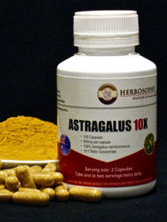 Astragalus 10X Loose powder or Capsules @Herbosophy