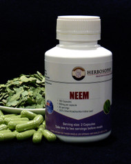 Neem Leaf Loose Herb, Powder or Capsules @ Herbosophy