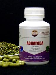 Adhatoda Leaf Loose Herb, Powder & Capsules @ Herbosophy