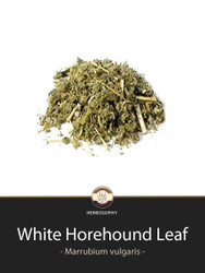 White Horehound Loose Leaf Tea @ Herbosophy