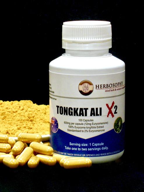Tongkat Ali X2 Capsules & Loose Powder @ Herbosophy