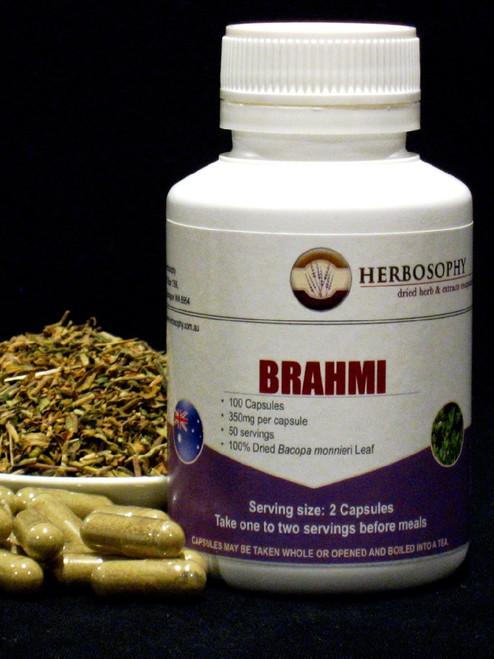 Brahmi Loose Herb, Powder or Capsules @ Herbosophy