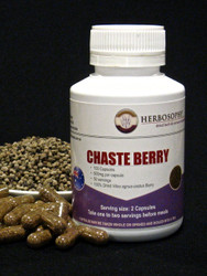 Vitex Capsules, berries & Powder @ Herbosophy