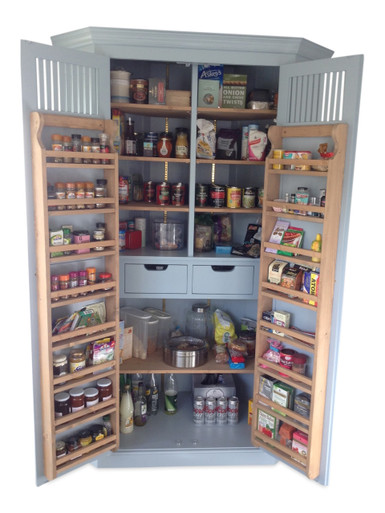 Holt Kitchen Larder Pantry Provisions Cupboard Corner Version Country Interiors