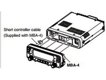 ICOM IC-MBA4 Controller bracket for the remote head IC