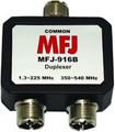 MFJ-916B 1.8-225 350-540MHz Duplexer