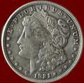 (1) MORGAN  SILVER DOLLAR  INVESTMENT SILVER COIN
