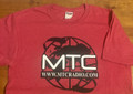 MTC Radio T-Shirt in Heather Red