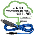 RT Systems APK-500 Programming Software and USB-29A for the Alinco DJ-500