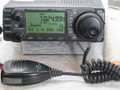 U3128 Used ICOM IC-706 MK II G w D.C. Cable, Mic, Mount Bracket  HF,VHF,UHF 100w on HF & Voice Module !
