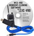 RT-SYSTEMS WCS-V80 Programming Software and cable for Icom IC-V80
