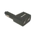 Workman Twin Socket Power Adaptor with light indicator