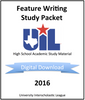 Feature Writing 2016