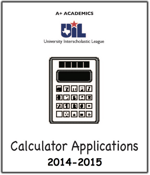 A+ Calculator Tests from 2014-15