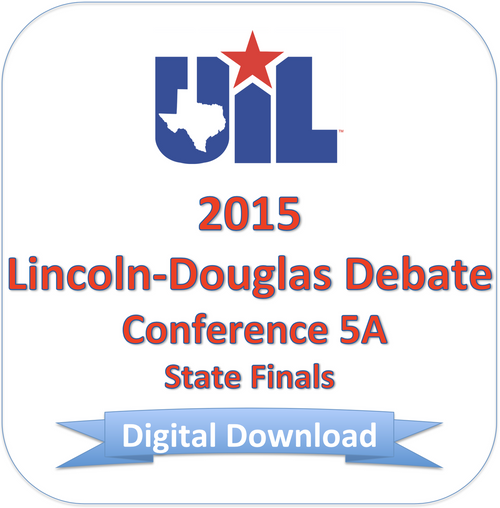 2015 LD Debate 5A Finals