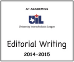 A+ Editorial Prompts from 2014-15