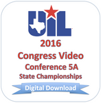2016 Congress 5A Finals