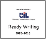 A+ Ready Writing Prompts from 2015-16