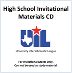 Invitational Materials CD