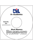 Music Memory Passport on CD