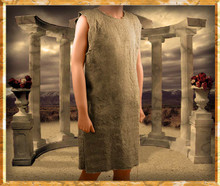 Gladiator Roman Tunic, Brown