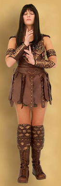 Xena warrior princess costume todds costumes solutioingenieria Choice Image