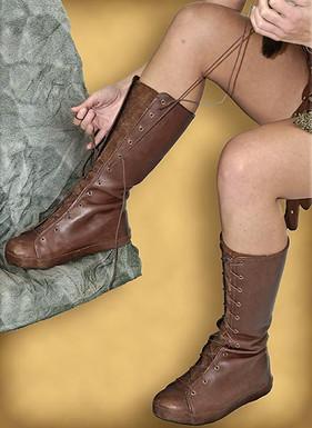 Princess Xena Custom Boots