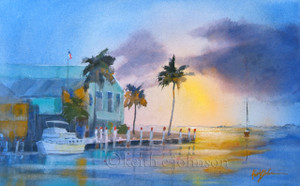 """""""Sunset and Peace"""" Prints"""