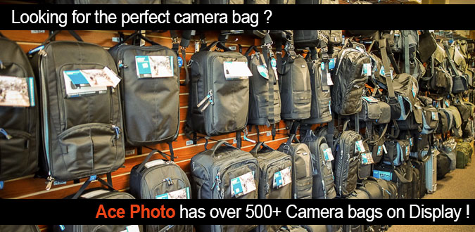 AcePhoto Has THE Largest selection of Camera Bags