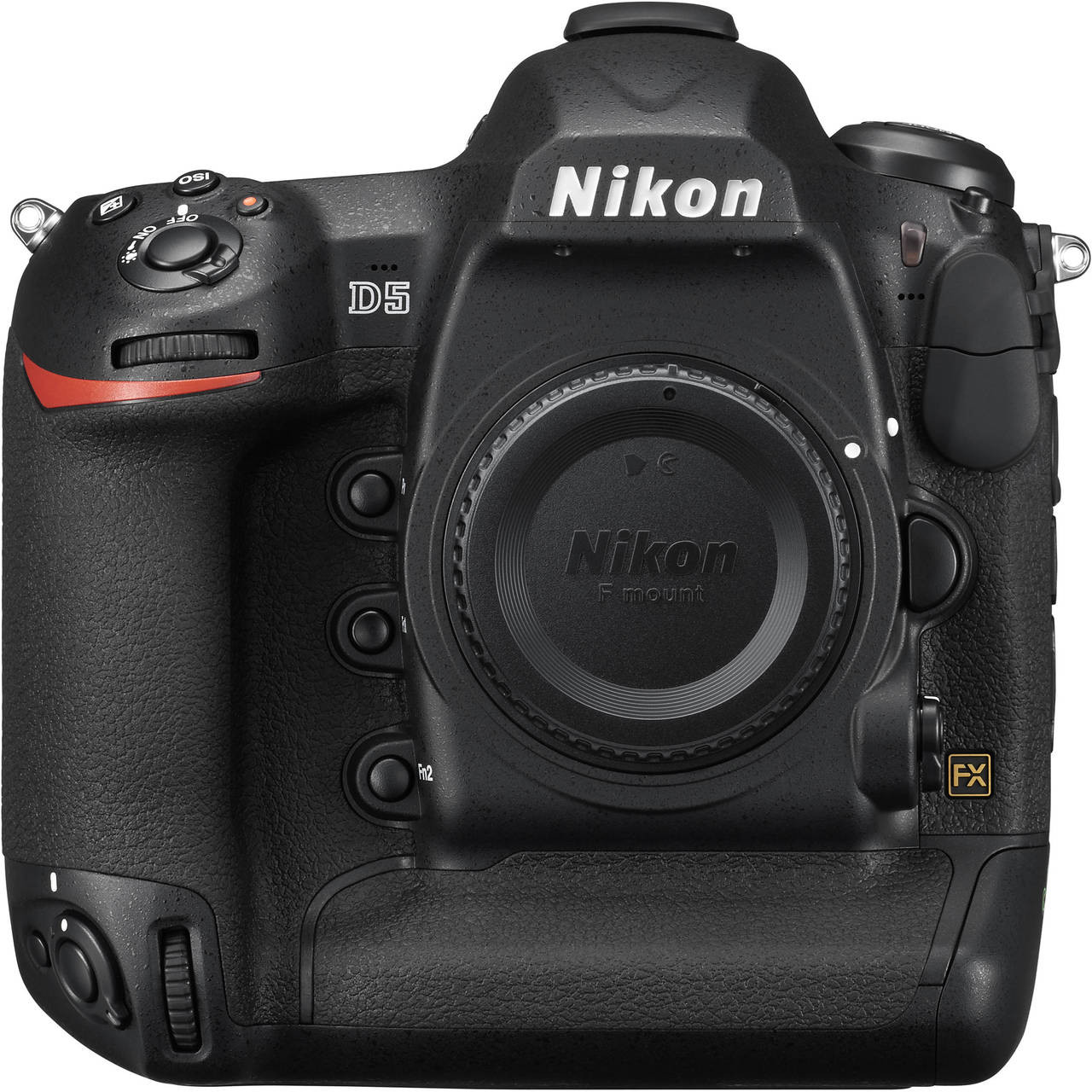 Nikon D5 Body with Dual CF Slots Front