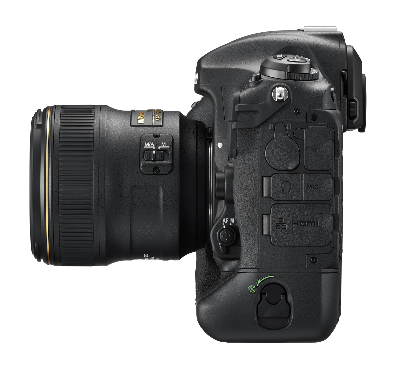 Nikon D5 Left Side