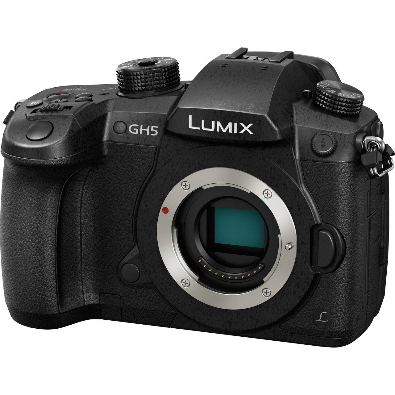 Lumix DC-GH5 Body - Front Left